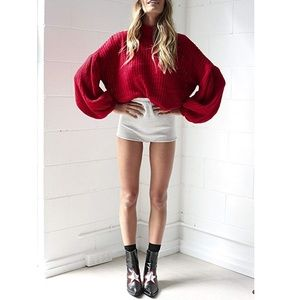Boutique Dresses - Long Sleeve globe Loose Pullover Knit Sweater Top